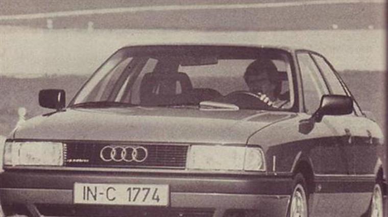 Audi 80 (quattro) 16V