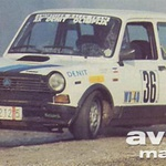 Autobianchi A 112 in Toyota Starlet 1.3