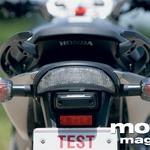 Honda Hornet - hondin zadek je drzno oblikovan.