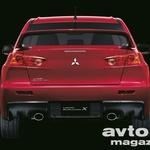 Vroča Micka - Mitsubishi Lancer Evolution X (foto: Mitsubishi)