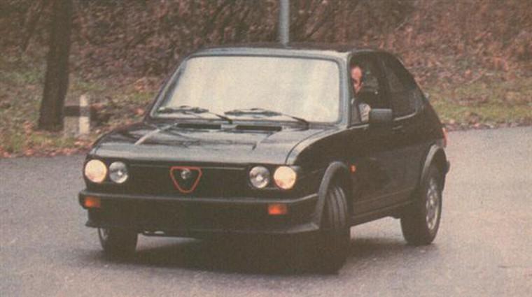 Alfa Romeo Alfasud Ti 1,5 quarifogllo verde