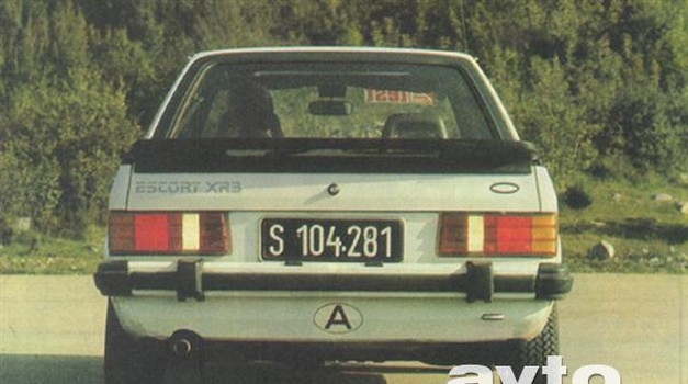 Ford Escort XR 3