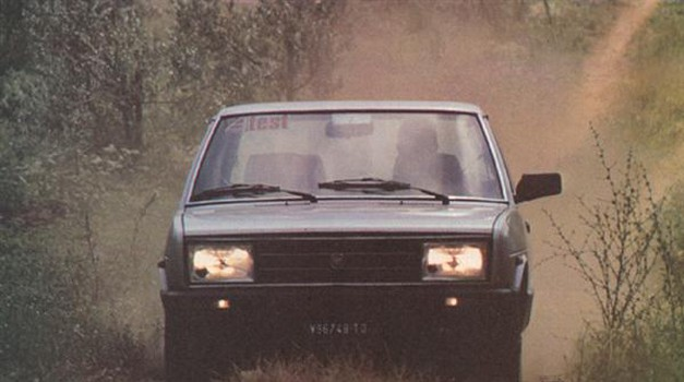 Fiat 131 supermirafiori 1400 TC