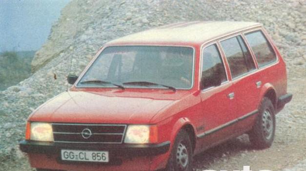 Opel Kadett 1.6 S voyage