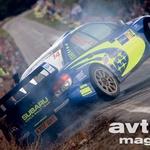 Najpočasnejši, a najbolj atraktiven tovarniški Subaru – Pons. (foto: Moštva)