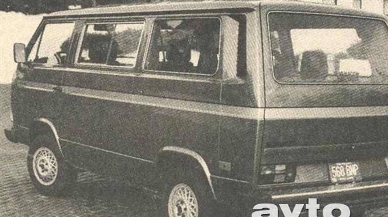 Volkswagen Vanagon GL