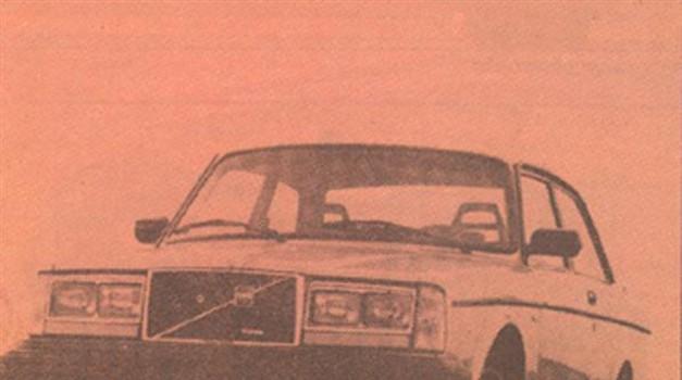 Volvo GLT turbo