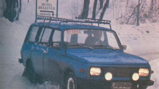Wartburg 353 W tourist