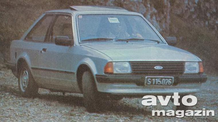 Ford Escort 1,6 GL