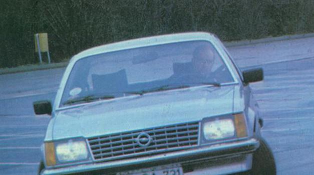 Opel senator in monza