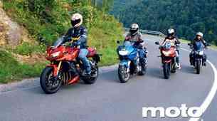 Primerjalni test: Sport Touring 1000