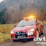 Mitsubishi Lancer Evo X skupine N prvič v akciji. (foto: moštva)