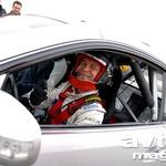 Werner Gusenbauer tokrat kljub dobremu razpoloženju ni imel pretirane sreče s svojim avtomobilom. (foto: Gašper Tršan)