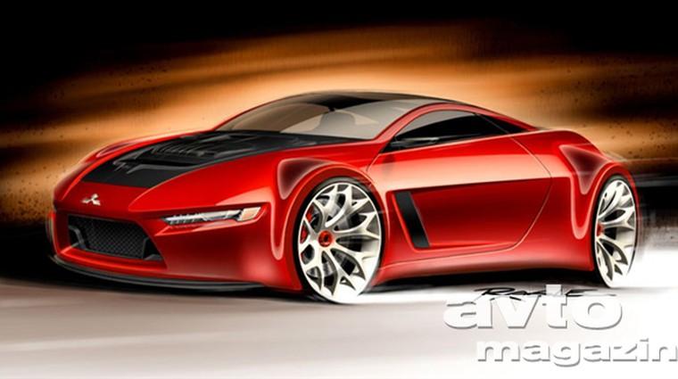 Mitsubishi Concept-RA je vznemirljiv koncept (foto: Mitsubishi)