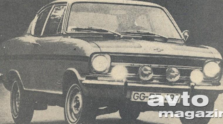 Opel Rally Kadet 1,9