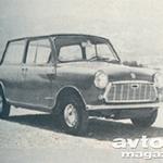 Mini 850/100X; Zastava 750; Citroen 2 CV/6; Daf 33; Fiat 850; NSU 1000 C; Renault 4 L; VW 1200