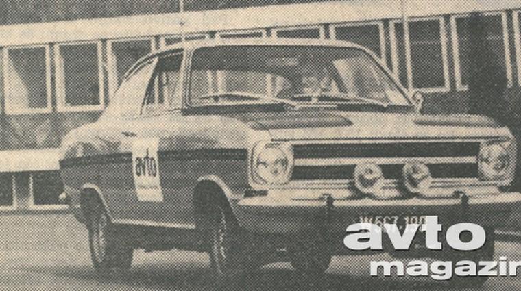 Opel rally kadett