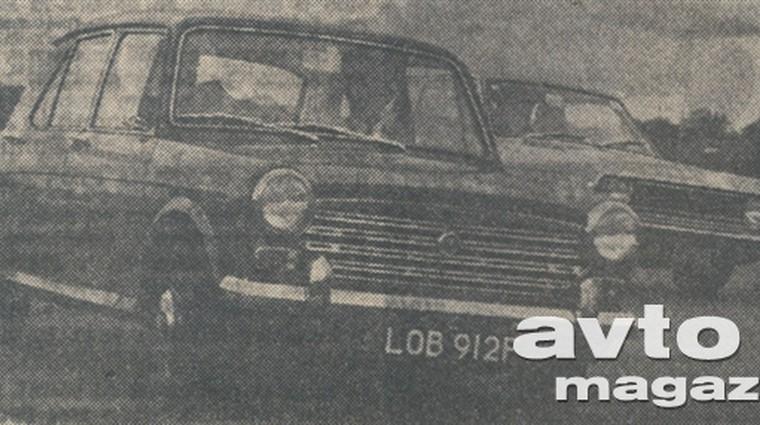 Austin mini 1000, Morris 1300