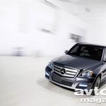 Še izključno mestni Mercedes-Benz GLK (foto: Mercedes-Benz)