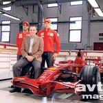 Massa in Räikkönen imata novega šefa – Stefana Domenicalija. (foto: moštvo)