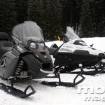Zimske gosenice za štirikolesnike Apache (foto: Matevž Hribar)
