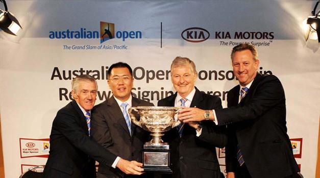 Kia in Australian Open