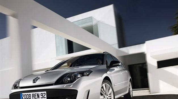 Nova Renault Laguna GT zavija z vsemi štirimi (foto: Renault)
