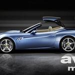 Ferrari California še s streho (foto: Ferrari)