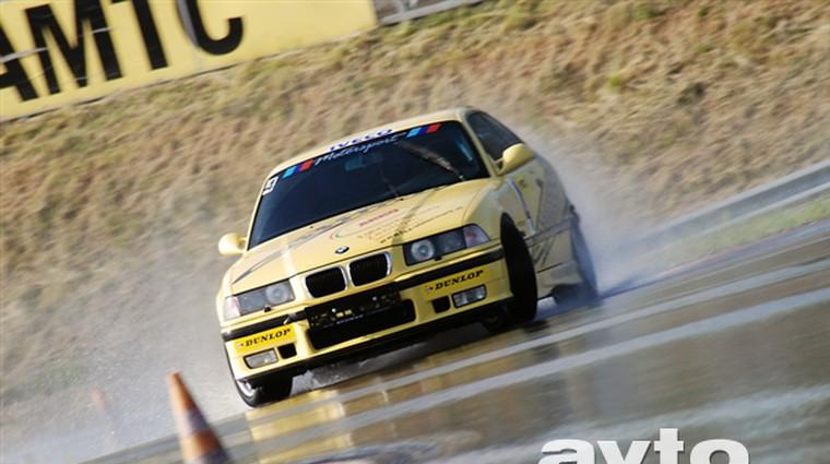 Foto: 1. tekma avstrijskega drift prvenstva DCA (foto: Gašper Tršan)