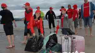 Zaposleni pri Toyoti Adria čistili obalo Ankarana