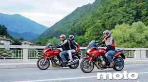 Vzporedni test: Honda CBF 600SA in CBF 1000