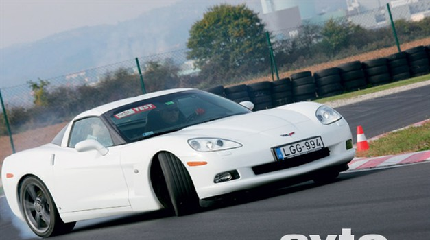 Videoreportaža s testiranja Corvette