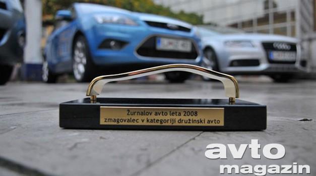 Focus Karavan in A5 Žurnalova avtomobila leta (foto: Žurnal)