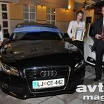 Ženski avto leta Audi A5. (foto: Žurnal)