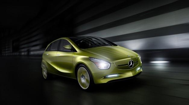 Mercedes-Benz koncept BlueZero kot predogled B-ja