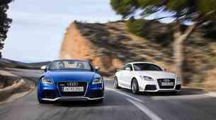 Audi TT RS: vrhunski športnik s petimi valji