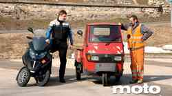 Test in video: Piaggio MP3 LT 400 i.e.