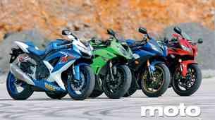 Primerjalni test: Supersport 600