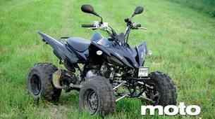 Test: Yamaha YFM 250 SE W
