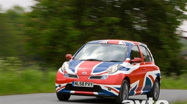 Nič več britanska Micra (foto: Nissan)