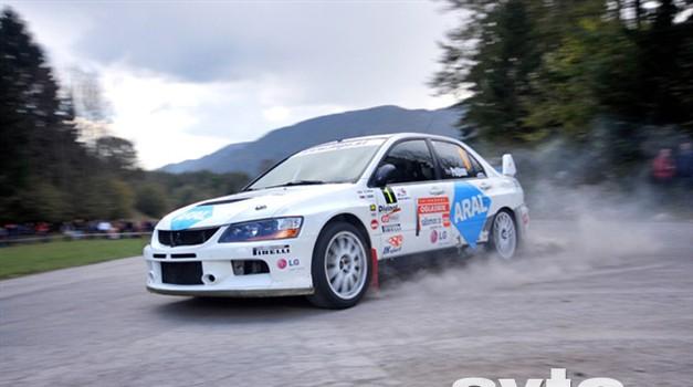Video: 3. Rally Idrija 2009 (foto: Tadej Pišek)