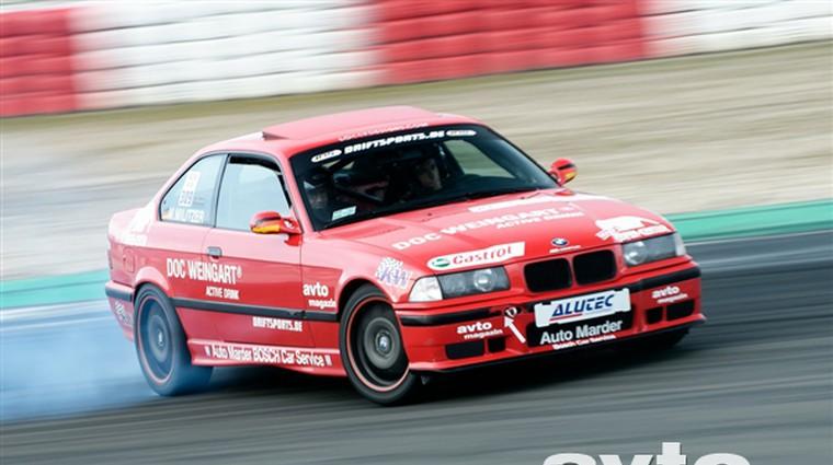 Video: Militzer na European Drift Championship (foto: arhiv Markus Militzer)