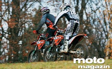 KTM 250 EXC in 450 EXC