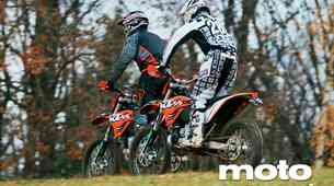Vzporedni test: KTM 250 EXC in 450 EXC