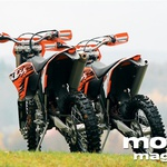 Vzporedni test: KTM 250 EXC in 450 EXC (foto: Matej Memedovič, Matevž Hribar)