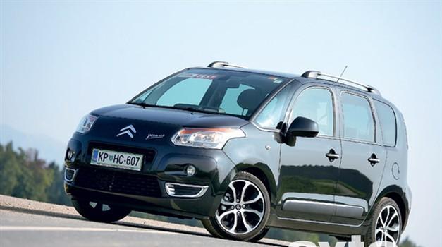 Citroën C3 Picasso 1.6 HDi (80 kW) FAP Airdream (foto: Aleš Pavletič)