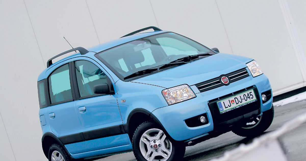 fiat panda 4x4 climbing 2010. Black Bedroom Furniture Sets. Home Design Ideas