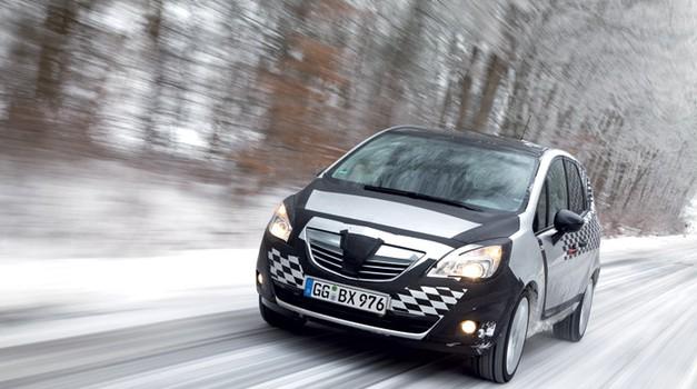 (Nova) Opel Meriva (foto: tovarna)
