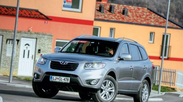 Test: Hyundai Santa Fe 2.2 CRDi 4WD AT Limited (foto: Aleš Pavletič)