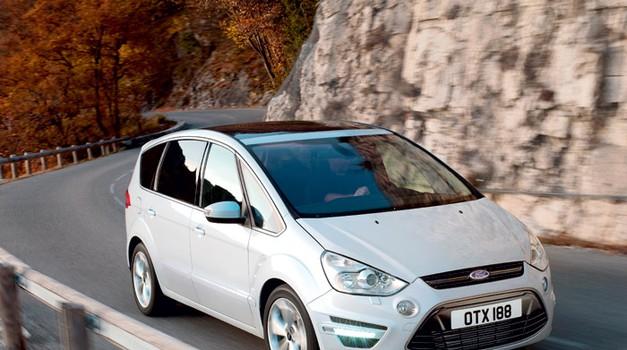 (Prenovljena) Ford Galaxy in S-Max (foto: Vinko Kernc, tovarna)